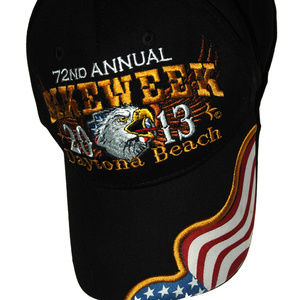 Harley-Davidson Hat Adustable Daytona Beach Cap